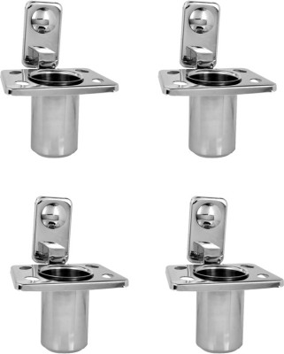 Handy Toothbrush Stand 4 pcs offer Stainless Steel Toothbrush Holder(Wall Mount)
