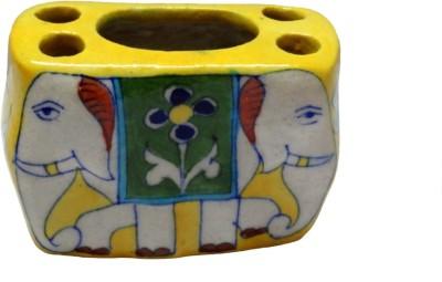 Fab Store Brush Stand Pottery, Ceramic Toothbrush Holder