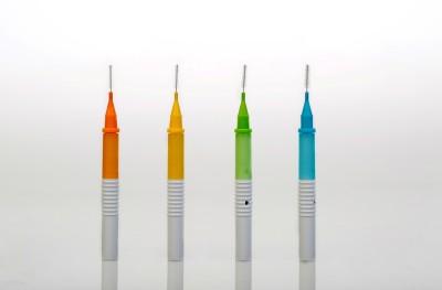 Dentwist Dentwist Interdental Brush 10 Set Multi color Made In Korea