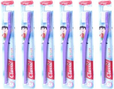 Classic Junior Soft Toothbrush (Pack of 6 )