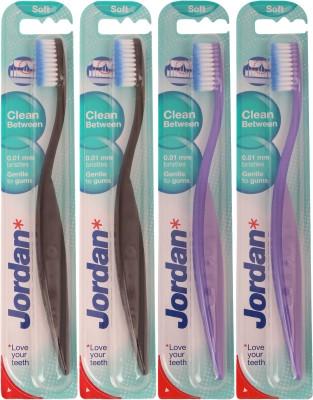 Jordan Kids Clean Between Soft Toothbrush Pack of Four - 7