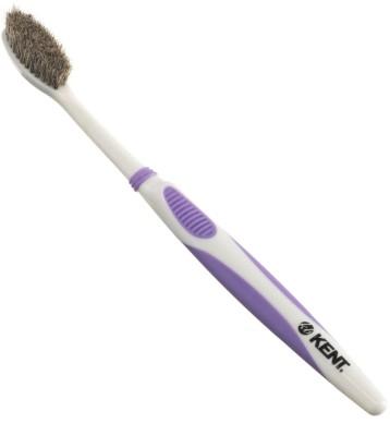 Kent KB42 Real Badger Bristles Toothbrsuh for Very Sensitive Gums