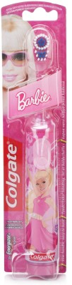 Colgate Kids Barbie Battery Power Oprated Toothbrush