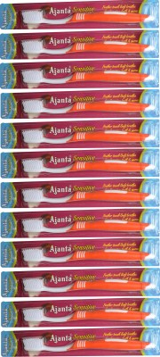Ajanta Sensitive Toothbrush Pack of 12 pieces