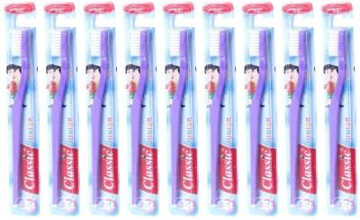 Classic Junior Soft Toothbrush (Pack of 9 )