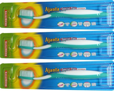 Ajanta Special Tips Toothbrush Pack Of 3 Pieces