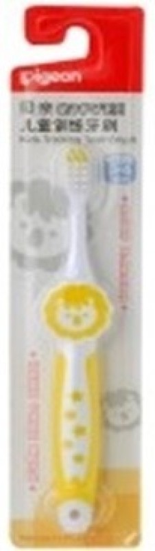 Pigeon Kids Training Toothbrush(Yellow)