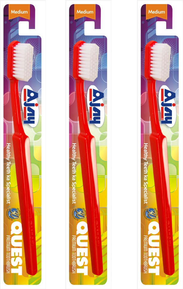 AJAY QUEST Pack Of 3(Mix Colour)