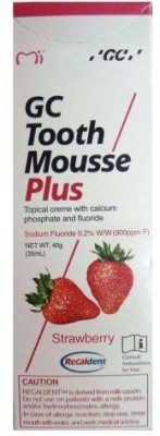 Recaldent GC Tooth Mousse Plus Strawberry Toothpaste