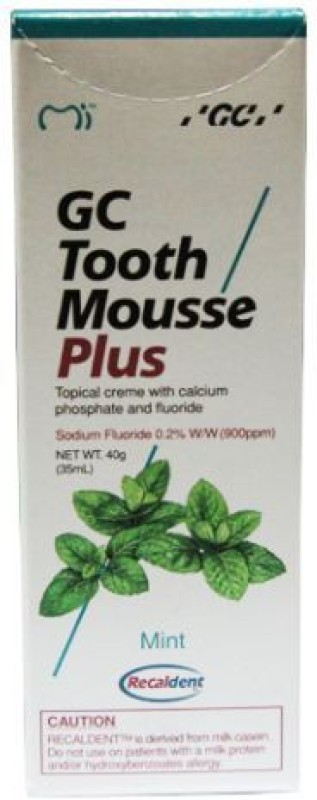 Recaldent Gc Tooth Mousse Plus Mint Toothpaste(40 g)