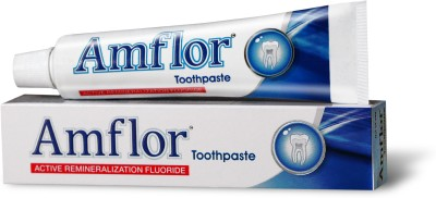 Amflor Organic Fluoride Toothpaste Tooth...