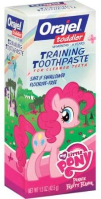 Baby Bucket Orajel Toddler My Little Pony Training 1.5 oz. Fruity Toothpaste