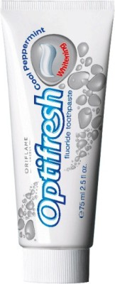 Oriflame Sweden Optifresh Fluoride Whitening Cool Peppermint Toothpaste