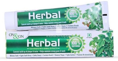 ON & ON Herbal Toothpaste Neem Toothpaste