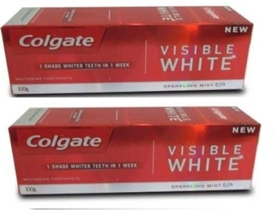 Colgate Visible White Toothpaste (Combo) Toothpaste