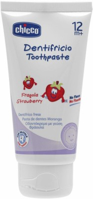 Chicco Strawberry Flavoured Toothpaste Toothpaste(50 ml)