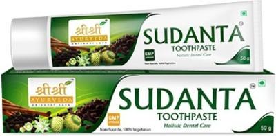 Sri Sri Ayurveda Sudanta Non Fluoride Toothpaste(50 g)
