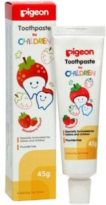 Pigeon Children Toothpaste Strawberry Toothpaste