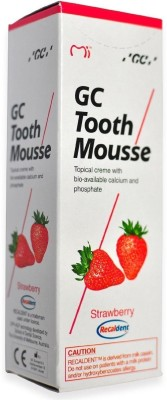Recaldent GC Tooth Mousse Strawberry Toothpaste
