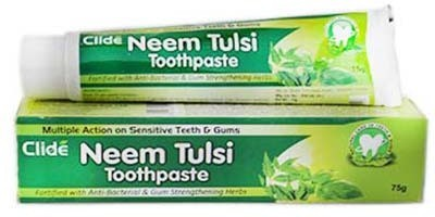 Clide International Neem tulsi Mint Toothpaste