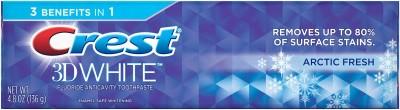Crest 3 D White Fresh Whitening Arctic Toothpaste(136 g)