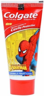 Colgate Kids - Spiderman (Bubble Fruit Flavour) Mild Bubblefruit Toothpaste