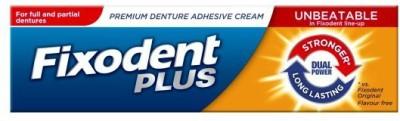 Fixodent Plus Denture Adhesive Cream free Toothpaste