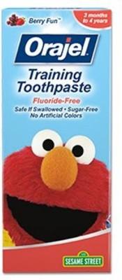 Baby Bucket Orajel Training Sesame - Berry Berry Toothpaste