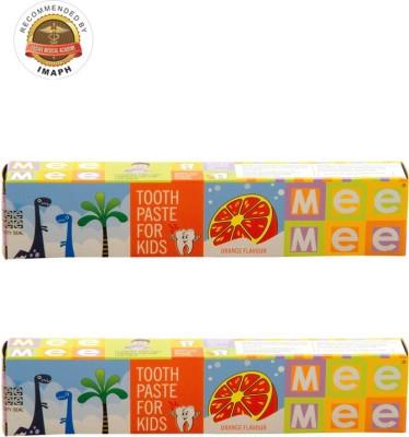 Mee Mee Fluoride-Free Flavor Orange Toothpaste