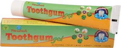 PITRASHISH Toothgum Gel Tulsi, Mint, Neem, Clove Toothpaste