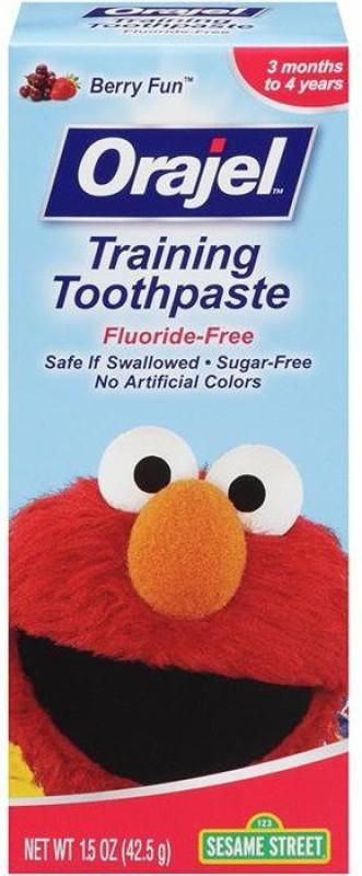 Orajel Training 42.5g - Sesame Street NA Toothpaste(42 g)