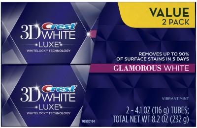 Crest 3d White Luxe Glamorous Toothpaste Toothpaste