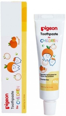 Pigeon Children Toothpaste Orange Toothpaste(45 g)