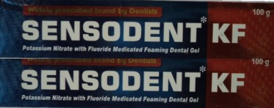 Indoco Sensodent KF White Toothpaste