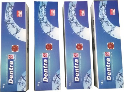 Dentra Tooth Gel Pack Of 3 Gel Toothpaste(200 g)