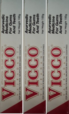 Vicco Dental cream Strawberry Toothpaste