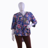 Private Affairs Casual 3/4th Sleeve Prin...