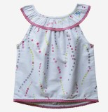 Caca Cina Top For Girls Casual Cotton