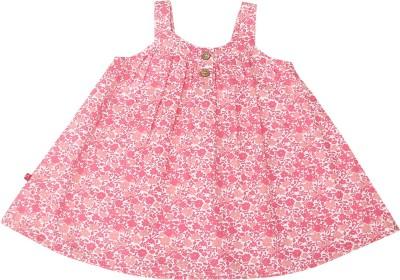 Nino Bambino Casual Noodle strap Floral Print Baby Girl's Pink Top