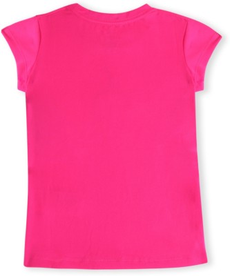 Jordan Kids Casual Short Sleeve Solid Girl's Pink Top