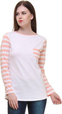 Lady Stark Casual Full Sleeve Striped Women's Multicolor Top