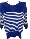 Forever 18 Casual 3/4th Sleeve Solid Wom...