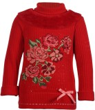 Cutecumber Top For Party Polyester (Red)
