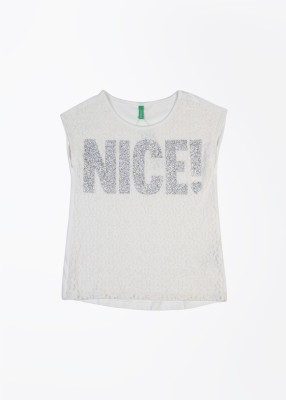 United Colors of Benetton Casual Girl's Top
