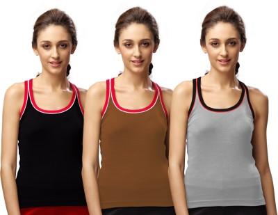 Sirtex Eazy Sports Sleeveless Solid Women's Multicolor Top