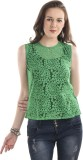 Ausehen Casual Sleeveless Solid Women's ...