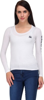 Zachi Casual Full Sleeve Solid Women's White Top