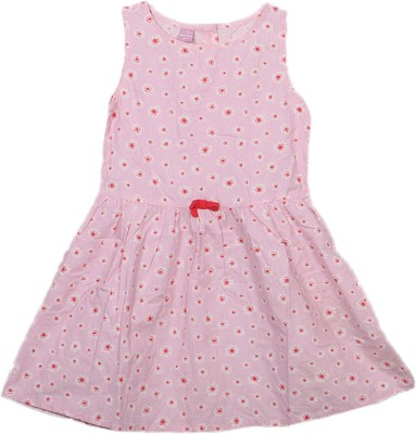 Kemrich Casual Sleeveless Graphic Print Baby Girl's Multicolor Top