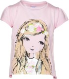 Pepito Top For Girls Casual Cotton Top