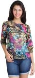 Arovi Casual 3/4th Sleeve Floral Print W...